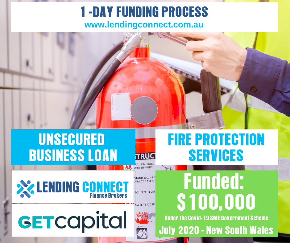 Small Business Loans - Fire Protection Services