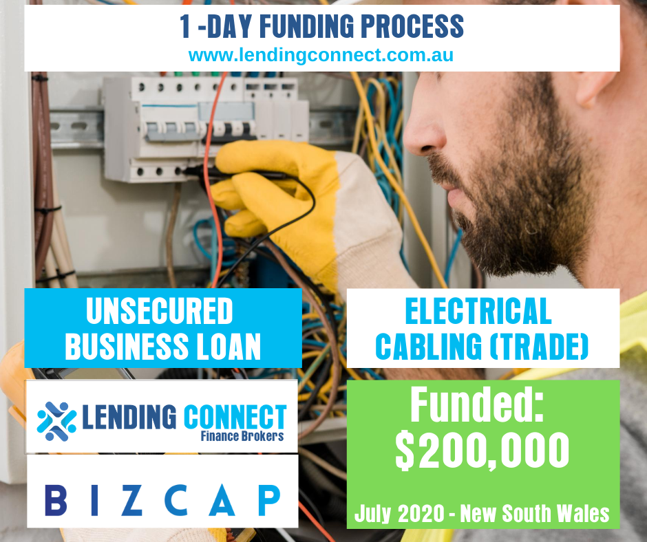 Small Business Loans - Electrician