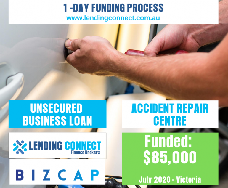 Small Business Loans - Accident Repair Centre