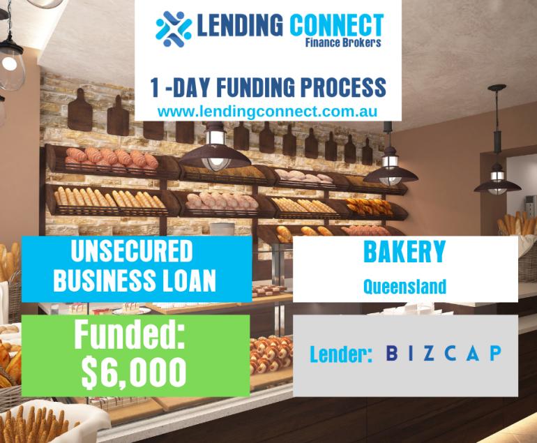 bakery loan