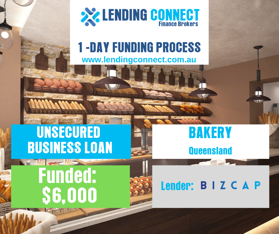 bakery loan