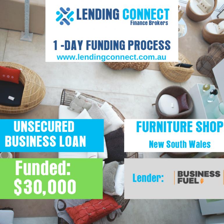 furniture shop loan