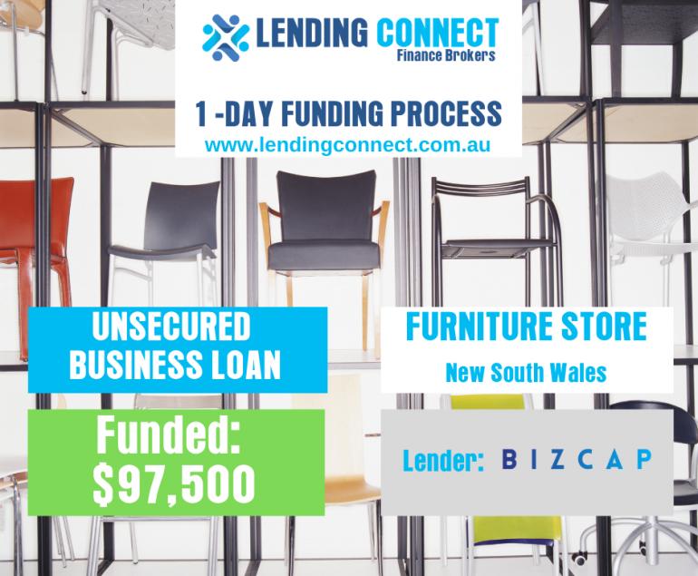 furniture store loan