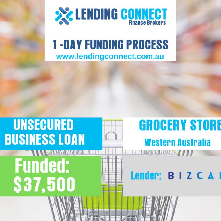 grocery store loan