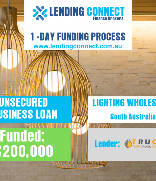 lighting wholesaler loan