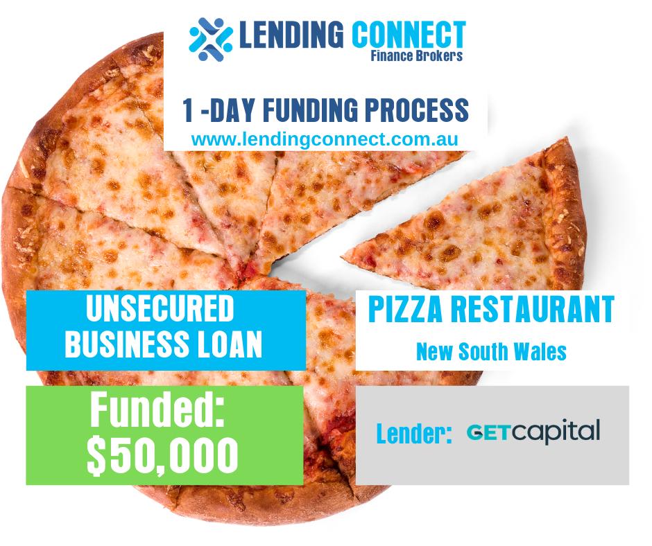pizza restaurant loan