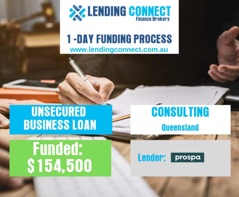 consulting loan
