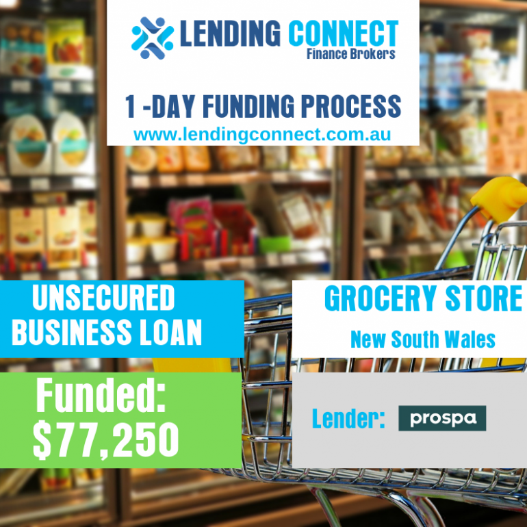 loan for grocery store