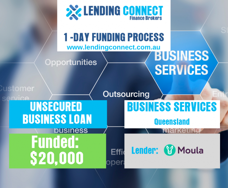 Loan for business services